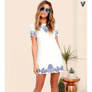 [lulu's] embroidered dress